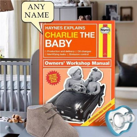 Haynes Explains Babies - Personalised Book